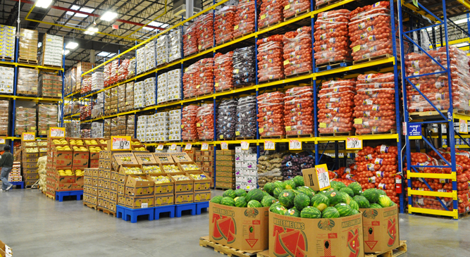food wholesalers and warehouse depots requested to be storm ready